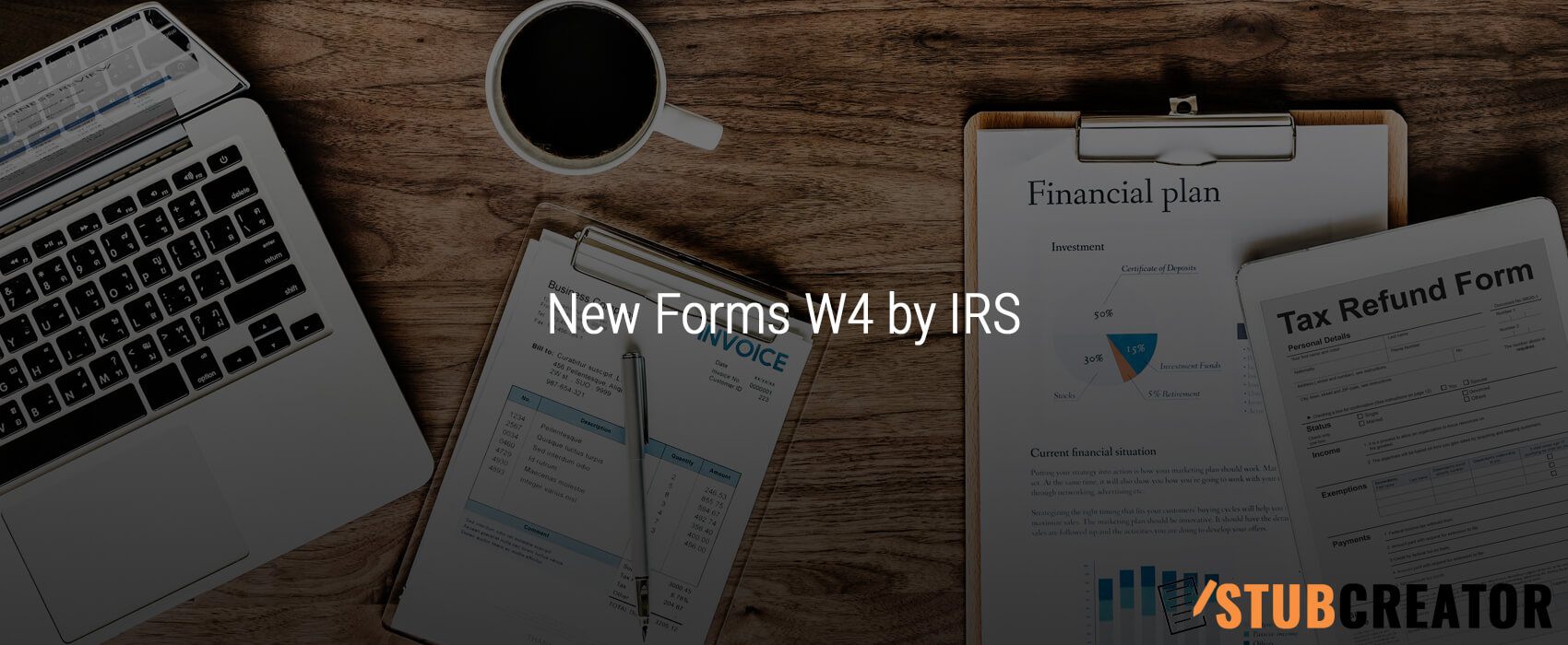 New Forms W4 by IRS