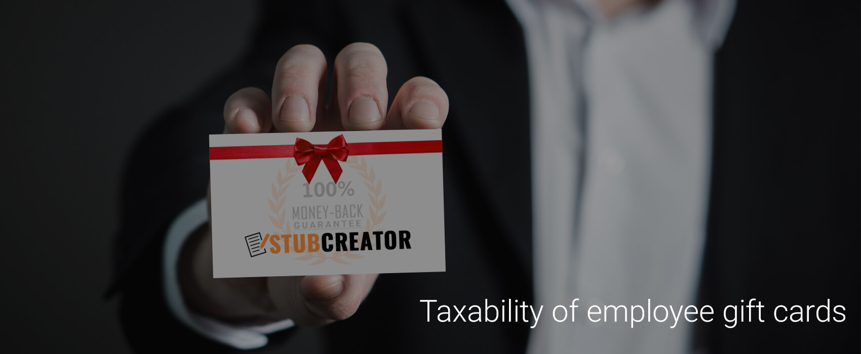 Taxability of employee gift cards