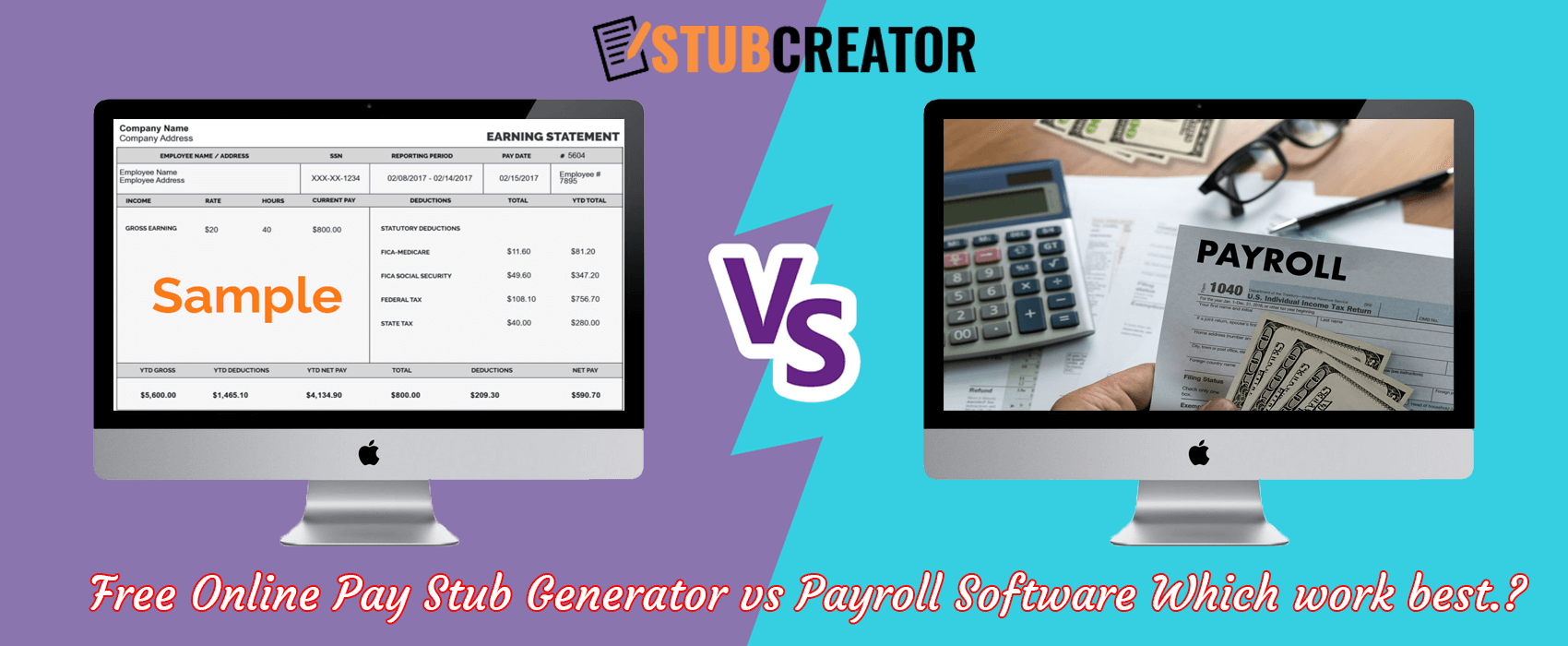 pay stub generator free