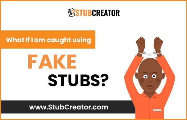 Caught using fake paystubs
